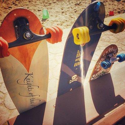 longboards-im-sand